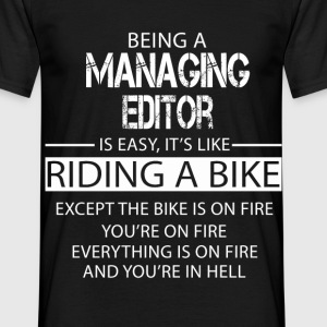 Managing Editor T-Shirts - Men's T-Shirt