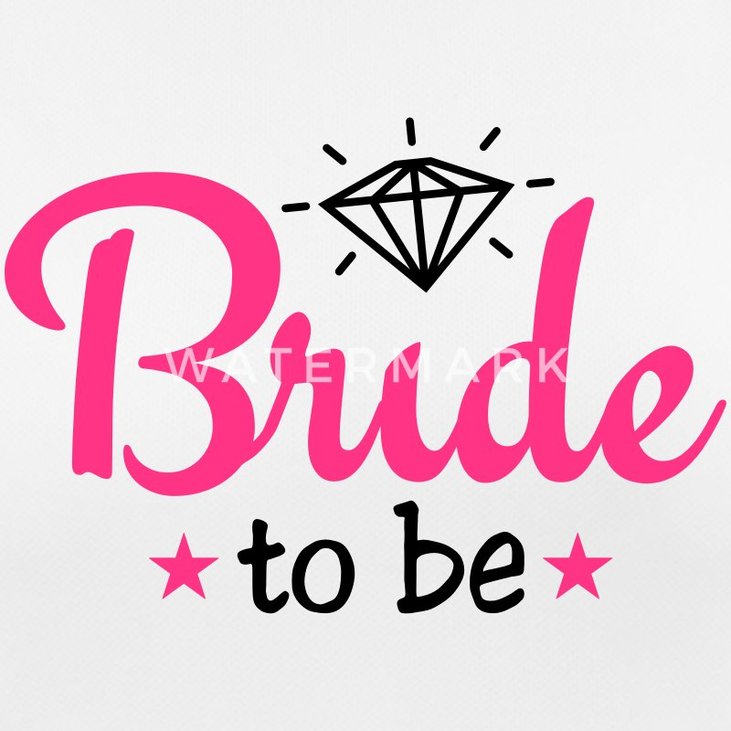 bride to be with diamond 2c Sportsbeklædning - Dame T-shirt svedtransporterende