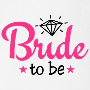 bride to be with diamond 2c Baby-bodyer - Kortærmet babybody, økologisk bomuld