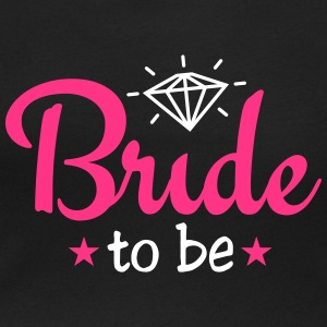 bride to be with diamond 2c Camisetas - Camiseta con escote redondo mujer