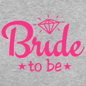 bride to be with diamond 1c Magliette - T-shirt ecologica da donna