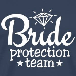 bride protection team 1c / bride security  Magliette - Maglietta Premium da uomo