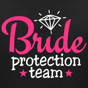 bride protection team 2c / bride security  Magliette - Maglietta da donna scollo a V