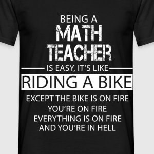 Math Teacher T-Shirts - Men's T-Shirt