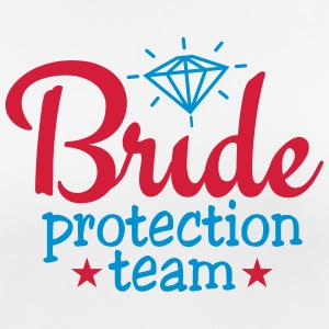 bride protection team 2c / bride security  Abbigliamento sportivo - Maglietta da donna traspirante