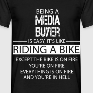 Media Buyer T-Shirts - Men's T-Shirt