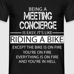 Meeting Concierge T-Shirts - Men's T-Shirt