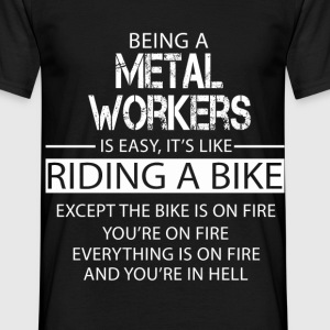 Metal workers T-Shirts - Men's T-Shirt
