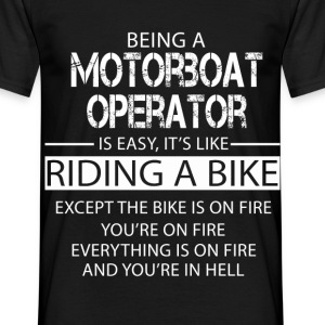 Motorboat Operator T-Shirts - Men's T-Shirt