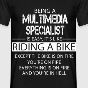 Multimedia Specialist T-Shirts - Men's T-Shirt
