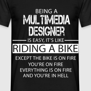 Multimedia Designer T-Shirts - Men's T-Shirt