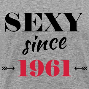 Sexy since 1961 T-shirts - Herre premium T-shirt