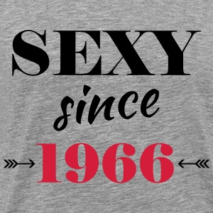Sexy since 1966 T-shirts - Herre premium T-shirt