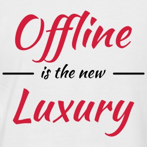 Offline is the new luxury Tee shirts - T-shirt baseball manches courtes Homme