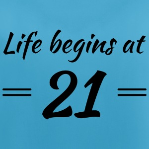 Life begins at 21 Sports wear - Women's Breathable Tank Top