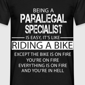 Paralegal Specialist T-Shirts - Men's T-Shirt