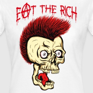 MC VICE - Eat The Rich (Vintage / For White) T-Shirts - Frauen T-Shirt
