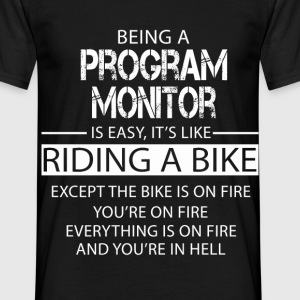Program Monitor T-Shirts - Men's T-Shirt