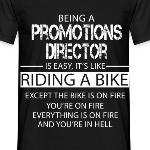 Promotions Director T-Shirts - Men's T-Shirt