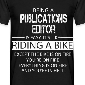 Publications Editor T-Shirts - Men's T-Shirt