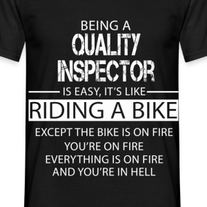 Quality Inspector T-Shirts - Men's T-Shirt