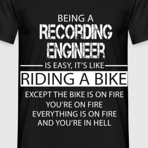 Recording Engineer T-Shirts - Men's T-Shirt