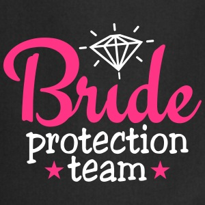 bride protection team 2c / bride security  Schürzen - Kochschürze