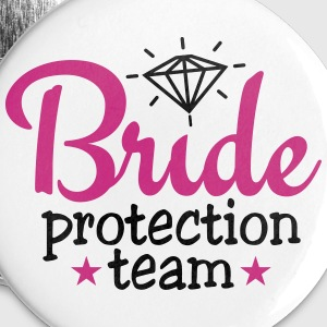 bride protection team 2c / bride security  Buttons - Buttons klein 25 mm