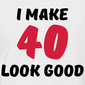 I make 40 look good T-Shirts - Men's Baseball T-Shirt