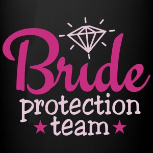 bride protection team 2c / bride security  Tassen & Zubehör - Panoramatasse farbig