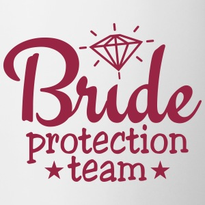 bride protection team 1c / bride security  Muggar & tillbehör - Mugg