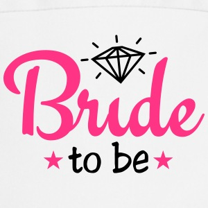 bride to be with diamond 2c  Aprons - Cooking Apron