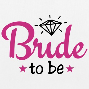 bride to be with diamond 2c Bags & Backpacks - EarthPositive Tote Bag