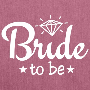 bride to be with diamond 1c Bags & Backpacks - Shoulder Bag made from recycled material