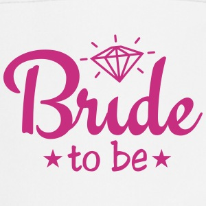 bride to be with diamond 1c  Aprons - Cooking Apron