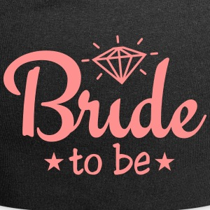bride to be with diamond 1c Caps & Hats - Jersey Beanie
