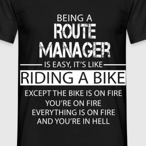 Route Manager T-Shirts - Men's T-Shirt