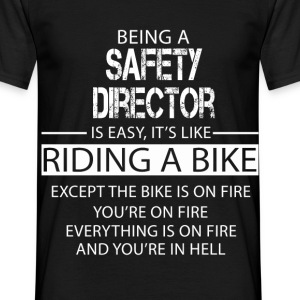 Safety Director T-Shirts - Men's T-Shirt