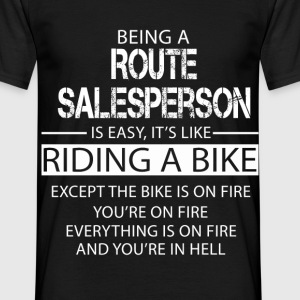 Route Salesperson T-Shirts - Men's T-Shirt