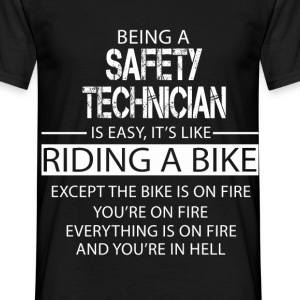 Safety Technician T-Shirts - Men's T-Shirt
