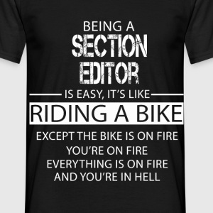 Section Editor T-Shirts - Men's T-Shirt