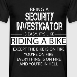 Security Investigator T-Shirts - Men's T-Shirt