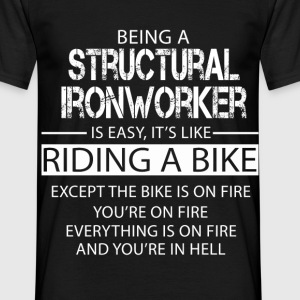 Structural Ironworker T-Shirts - Men's T-Shirt