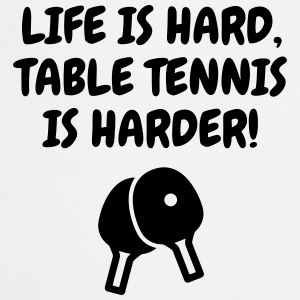 Table Tennis - Ping Pong - Sport - Racket - Ball Forklær - Kokkeforkle