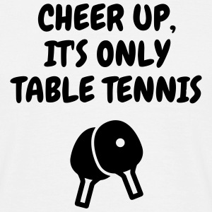 Table Tennis - Ping Pong - Sport - Racket - Ball T-Shirts - Men's T-Shirt