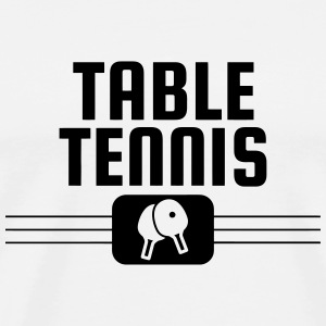 Table Tennis - Ping Pong - Sport - Racket - Ball T-Shirts - Men's Premium T-Shirt