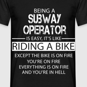 Subway Operator T-Shirts - Men's T-Shirt