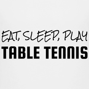 Table Tennis - Ping Pong - Sport - Racket - Ball Shirts - Kids' Premium T-Shirt