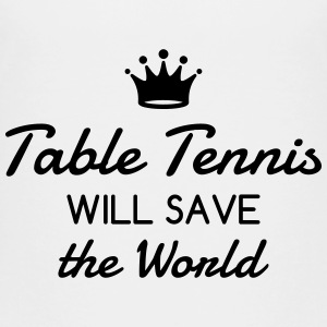 Table Tennis - Ping Pong - Sport - Racket - Ball T-shirts - Premium-T-shirt tonåring