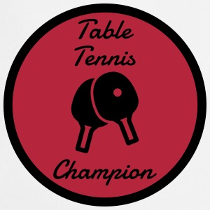 Table Tennis - Ping Pong - Sport - Racket - Ball  Aprons - Cooking Apron
